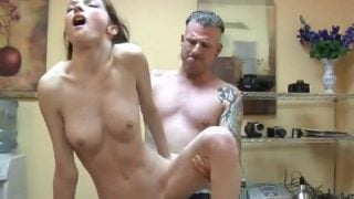 Sex in the office with a young secretary